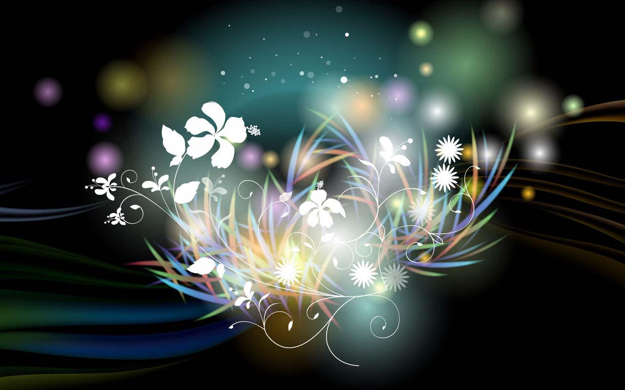 neon flowers 13311