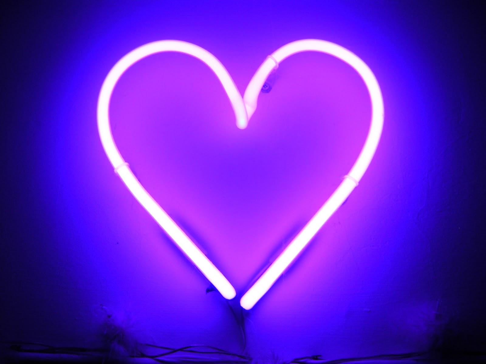 cool neon heart wallpaper - photo #23