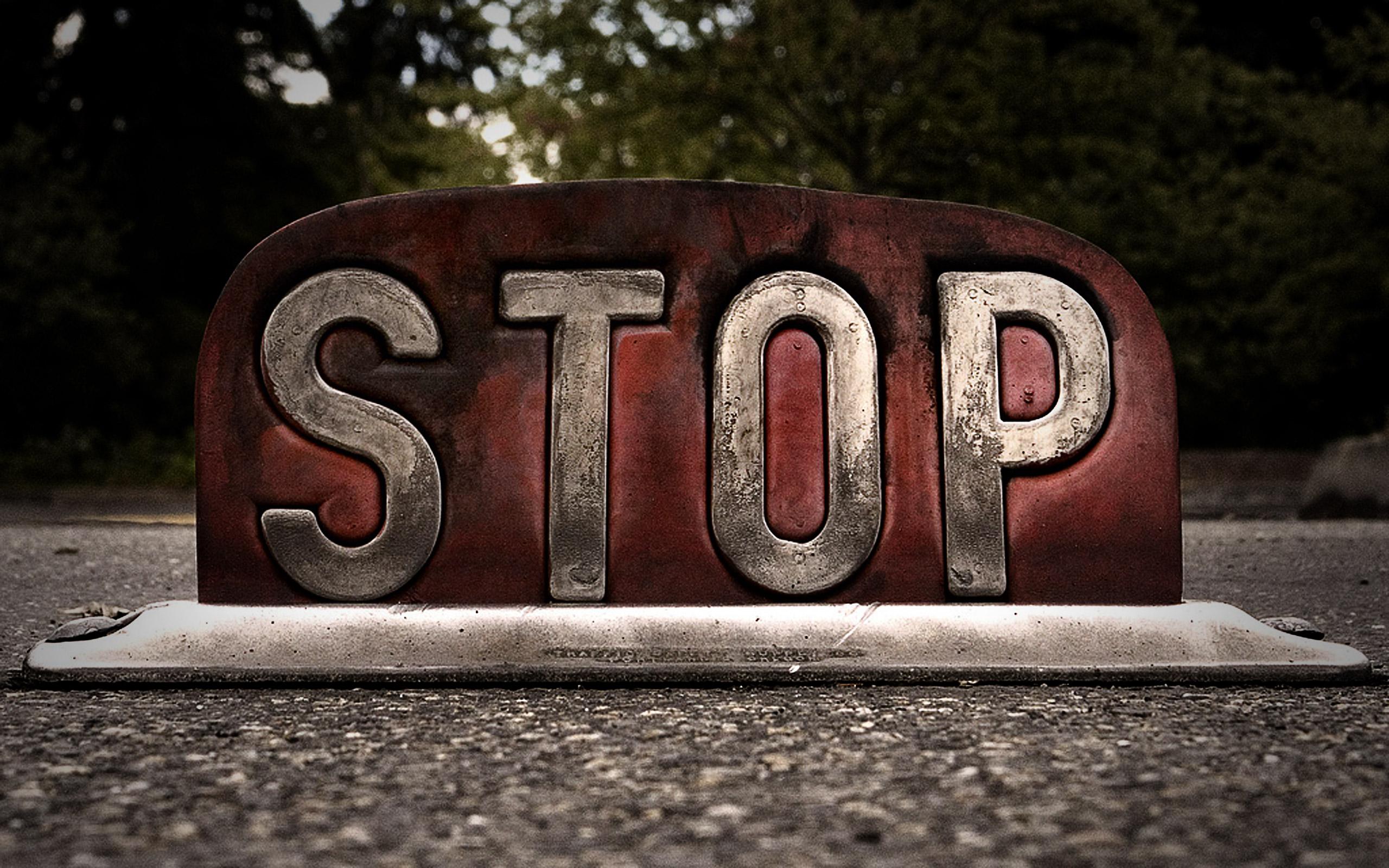stop wallpaper 37681
