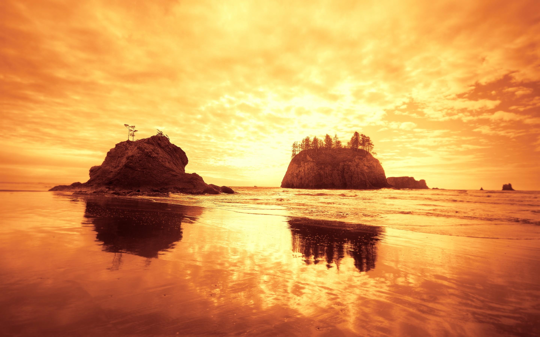 stunning beach rocks wallpaper 34587