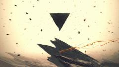 Abstract Pyramid Wallpaper 20758