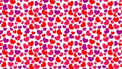 Awesome Heart Pattern Wallpaper 41519