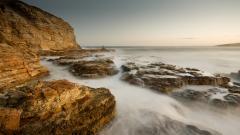 Beach Rocks Wallpaper 34576