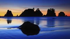Beach Rocks Wallpaper 34601