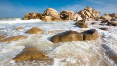 Beach Rocks Wallpapers 34588