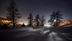 Beautiful Night Landscape Wallpaper 33494