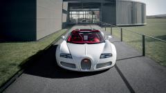 Beautiful White Bugatti Wallpaper 44199