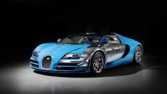 Blue Bugatti Wallpaper 44197