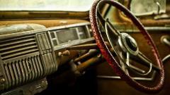 Classic Car Interior Wallpaper 36889