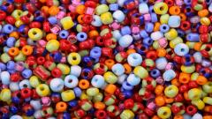 Colorful Beads Wallpaper 44990