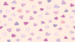 Cute Heart Pattern Wallpaper 41517