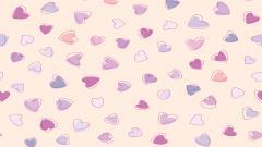 Cute Heart Pattern Wallpaper 41517