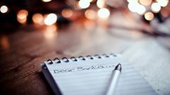 Dear Santa Letter Wallpaper 43901