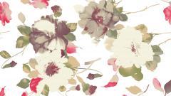Flower Pattern Wallpaper 18972