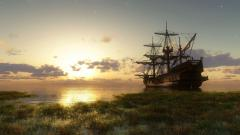 Free Ship Wallpaper 28887