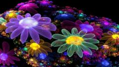 Neon Flowers 13299