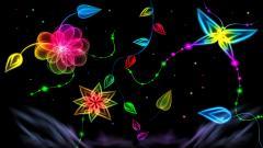 Neon Flowers 13301