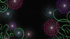Neon Flowers 13307