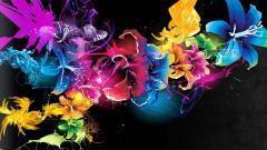 Neon Flowers 13310