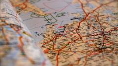 Road Map Close Up Wallpaper 43603