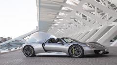 Silver Porsche 918 Spyder Wallpaper 43902