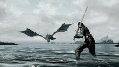 Skyrim Dragon Wallpaper 43914