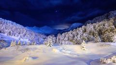 Stunning Night Landscape Wallpaper 33495