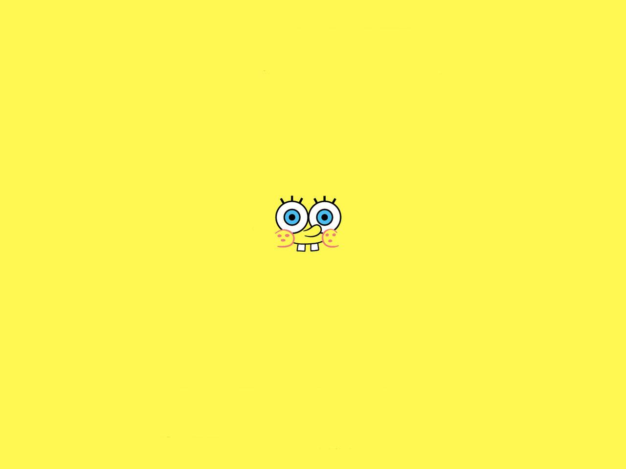 yellow cartoon wallpaper 16287