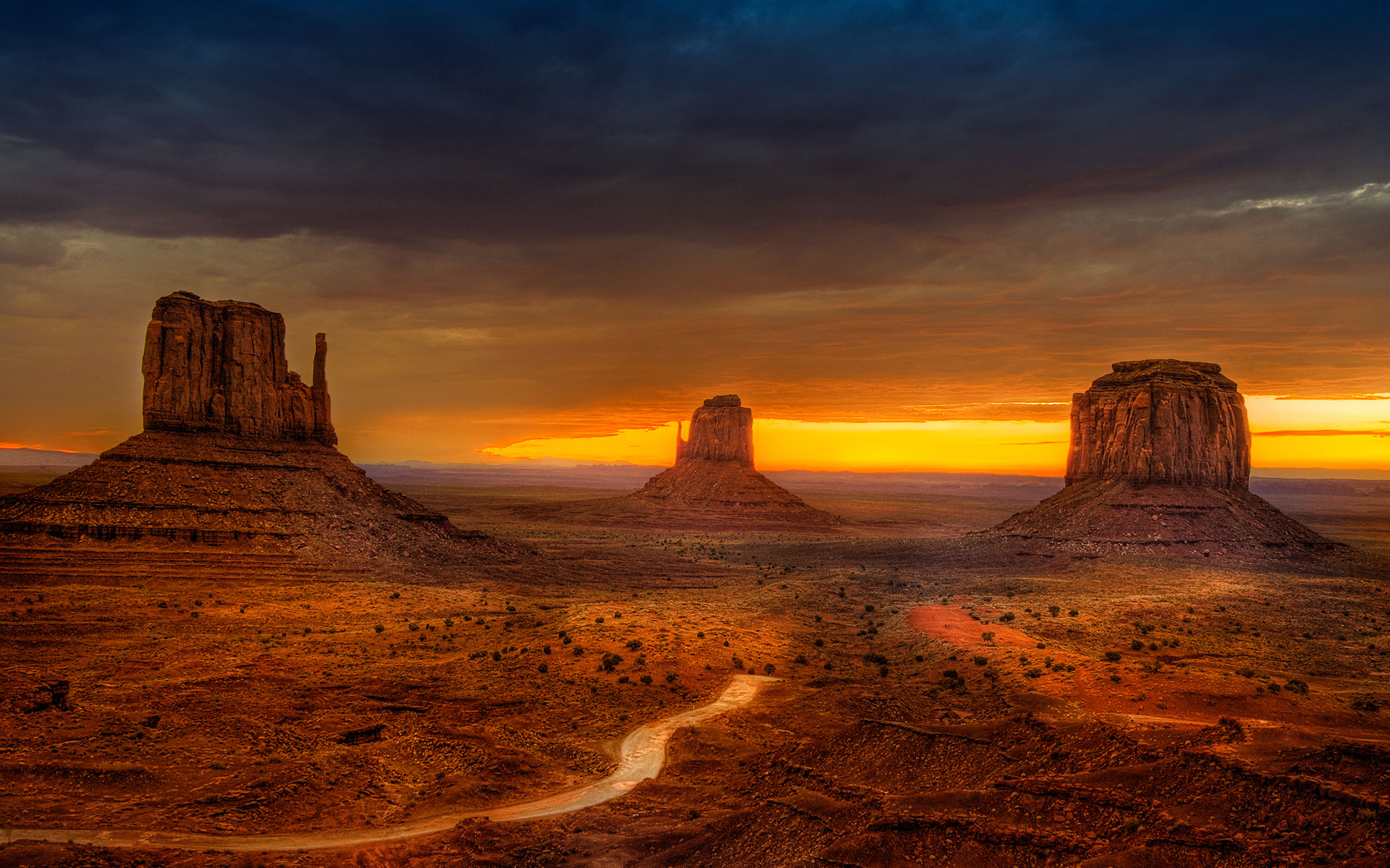 amazing monument valley wallpaper 36907