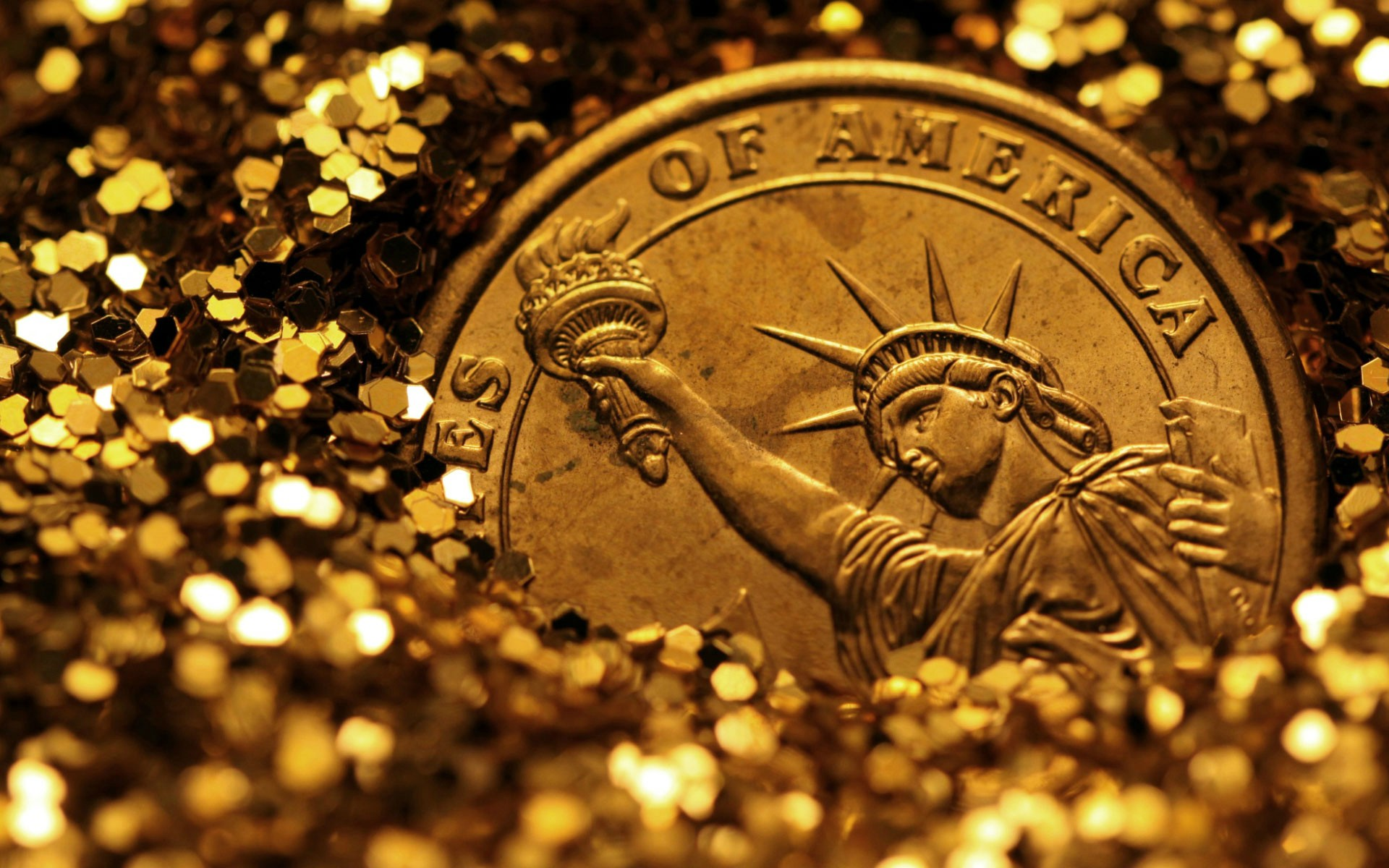 awesome gold coin wallpaper 44248