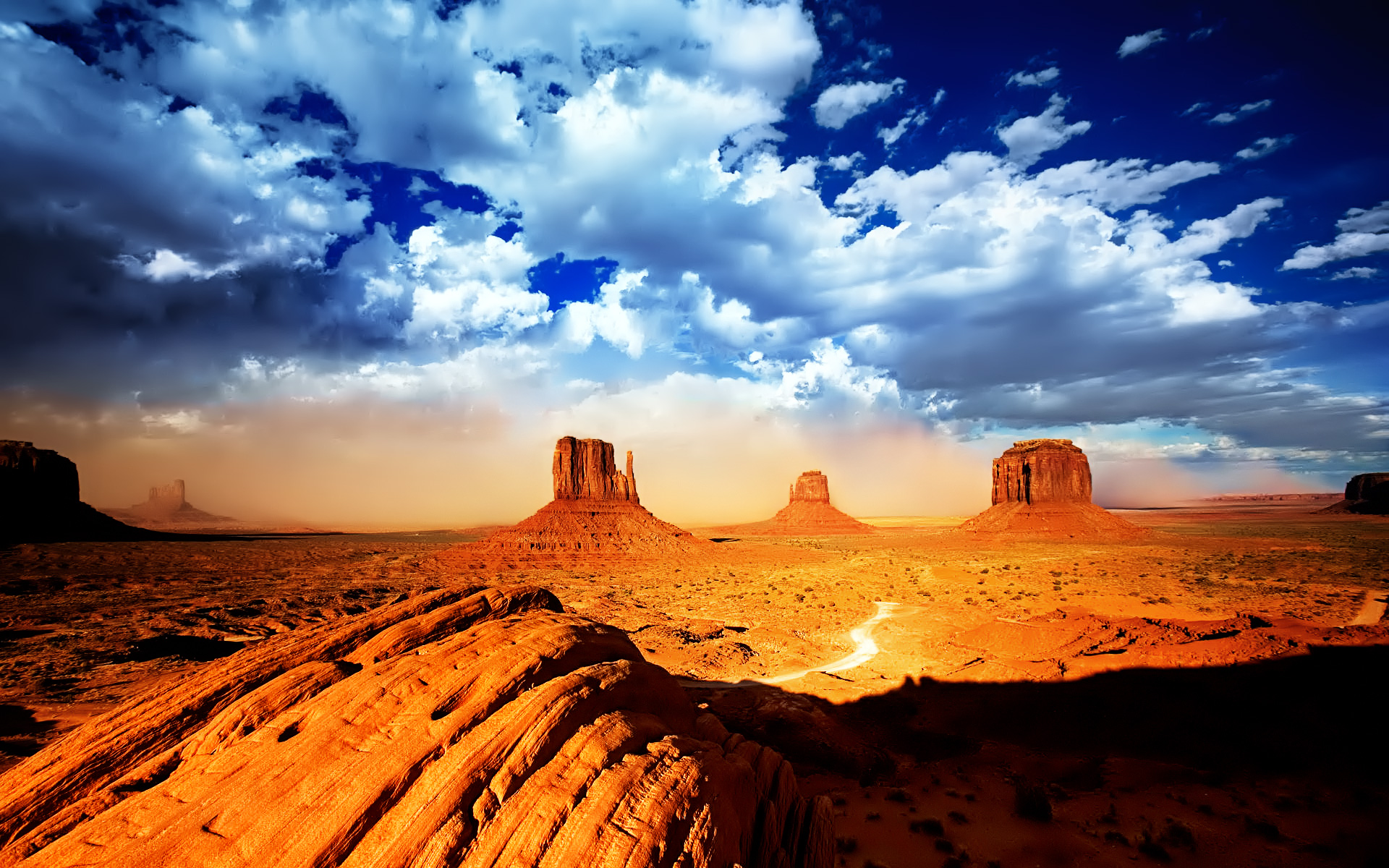 awesome monument valley wallpaper 36915