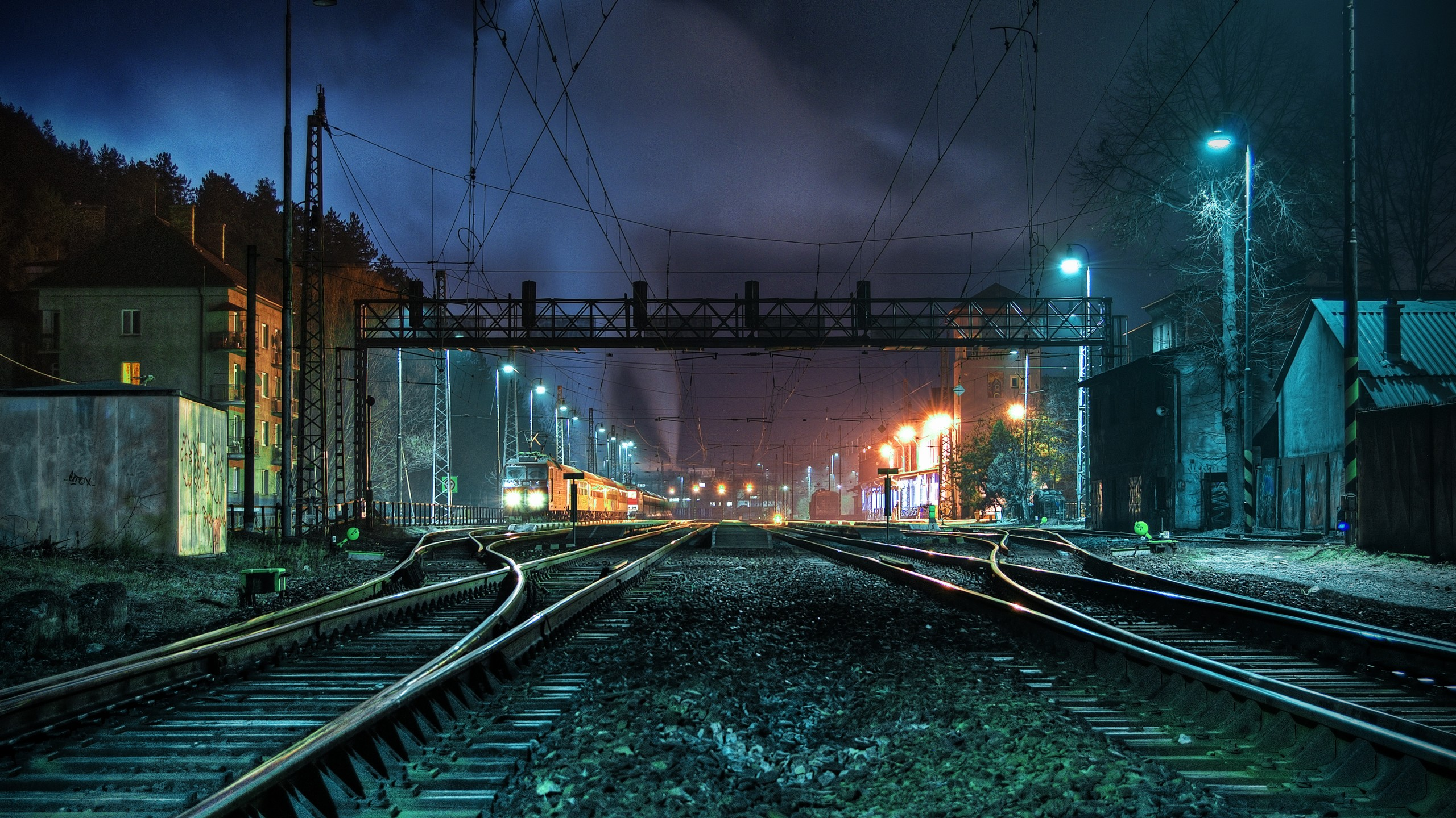 awesome train track wallpaper 37971
