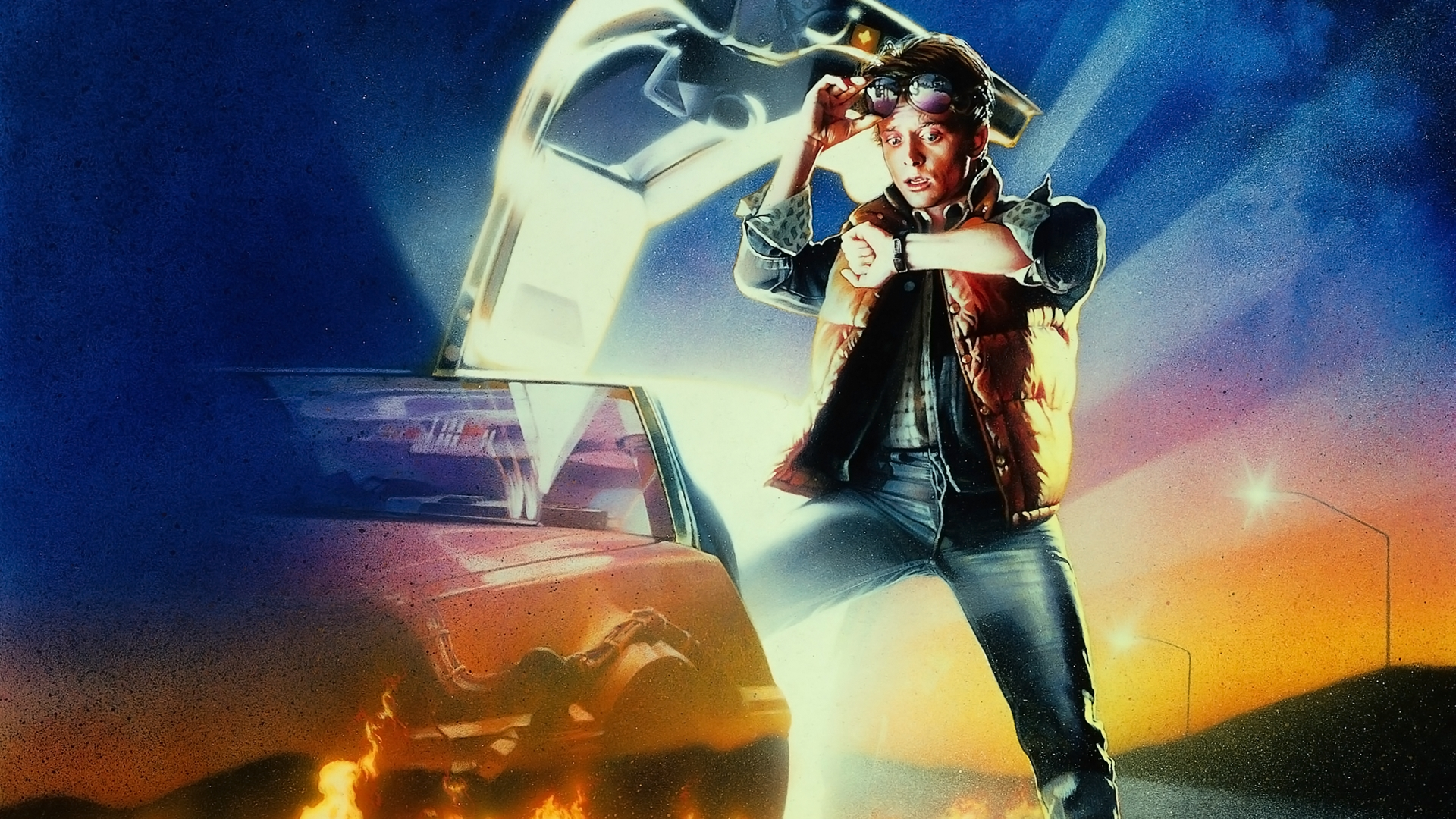 back to the future wallpaper 29273