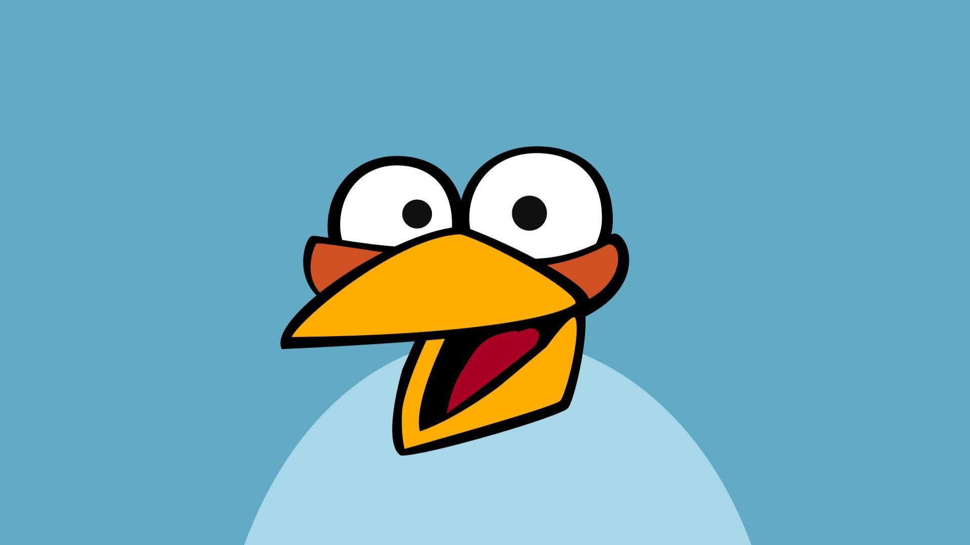 blue angry bird 30407