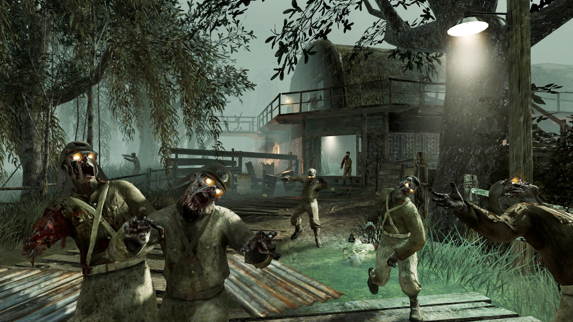 call of duty zombies shi no numa wallpaper 9050