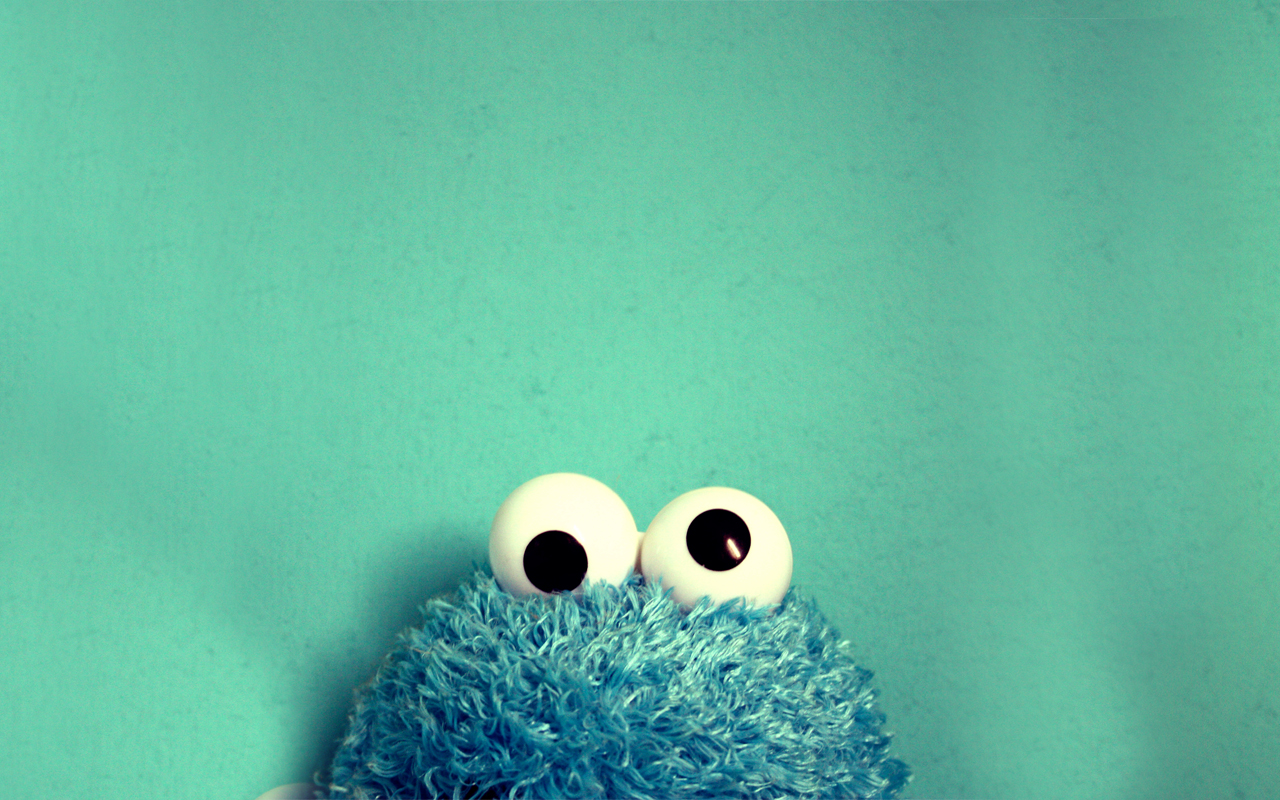 funny cookie monster wallpaper
