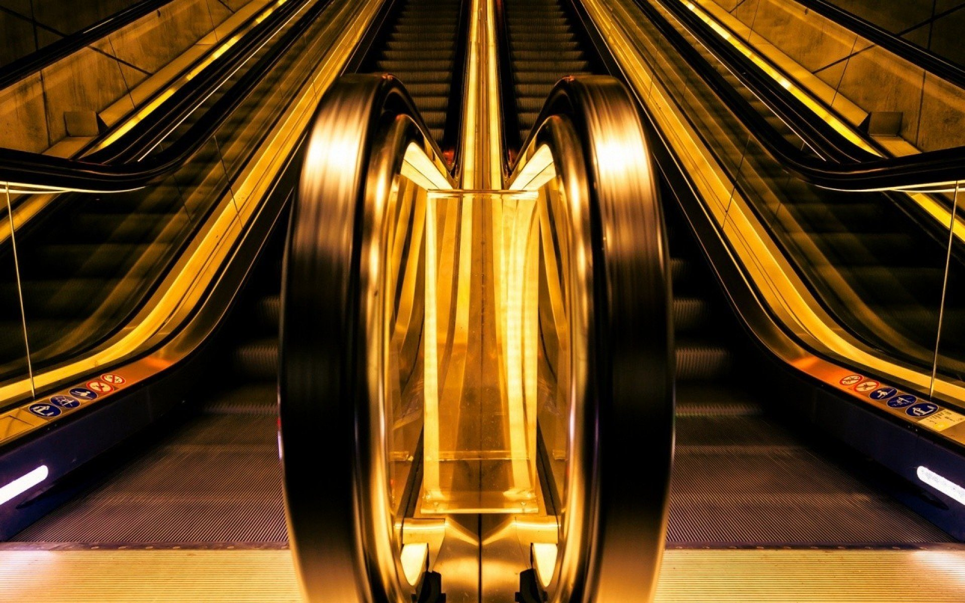 cool escalator wallpaper 37955