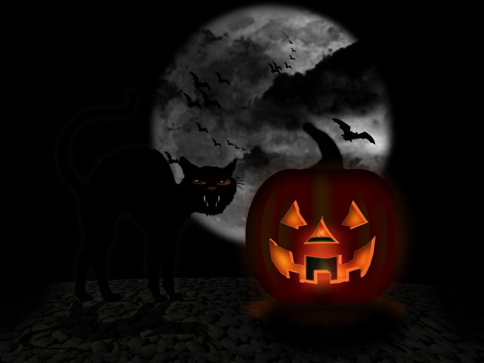 free halloween wallpaper 5208 1600x1200 px