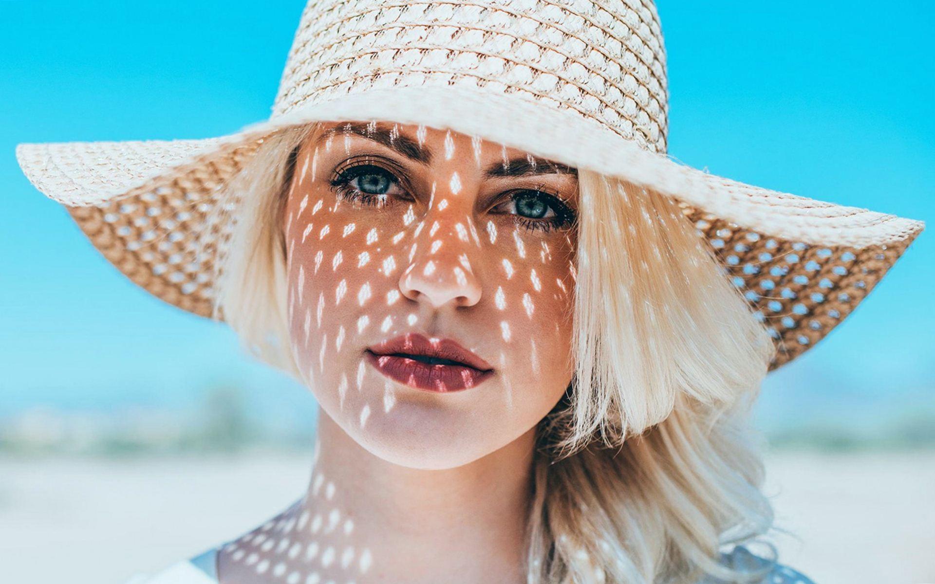gorgeous girl hat wallpaper 43327