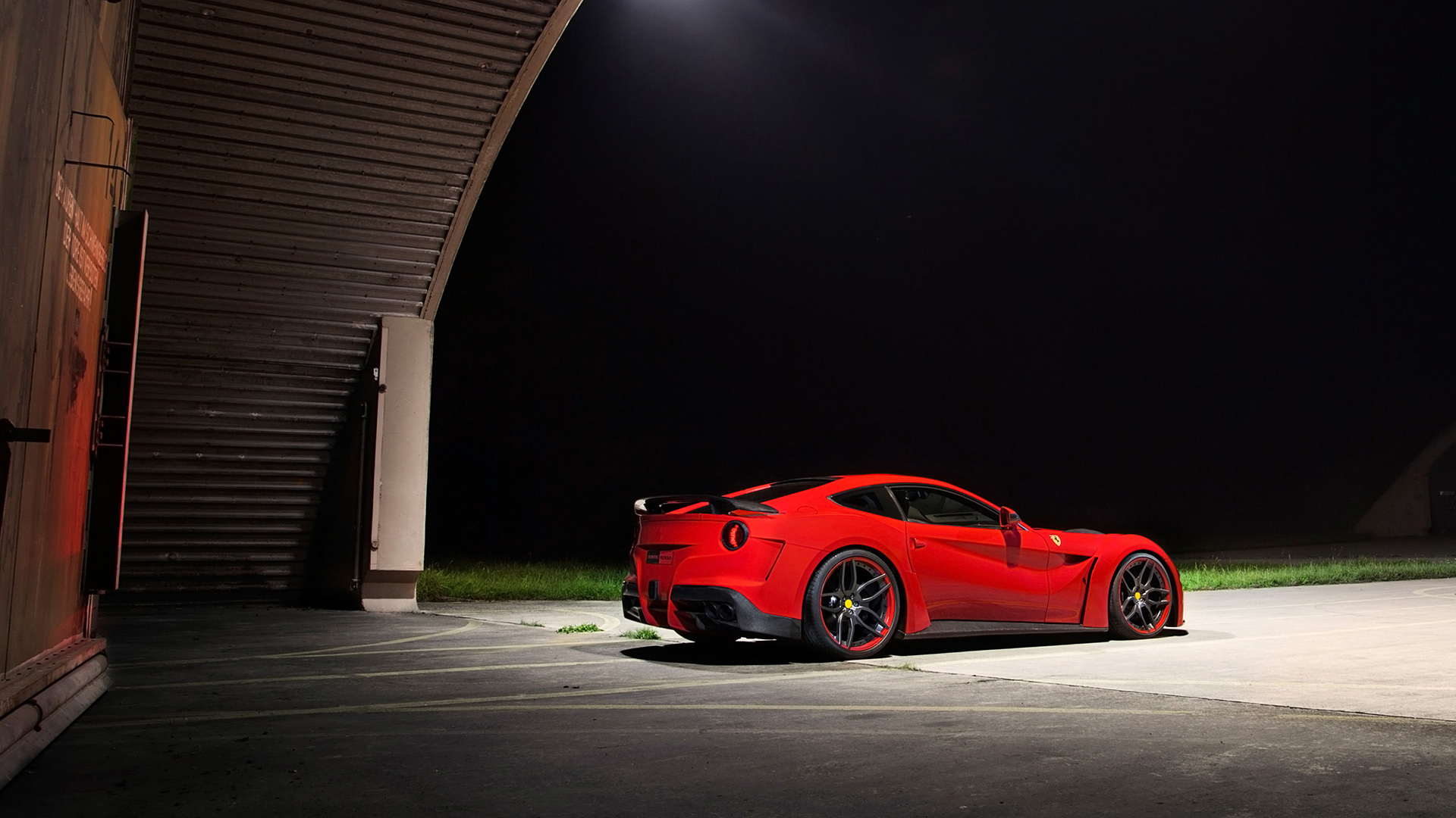 gorgeous red ferrari f12 wallpaper 44214