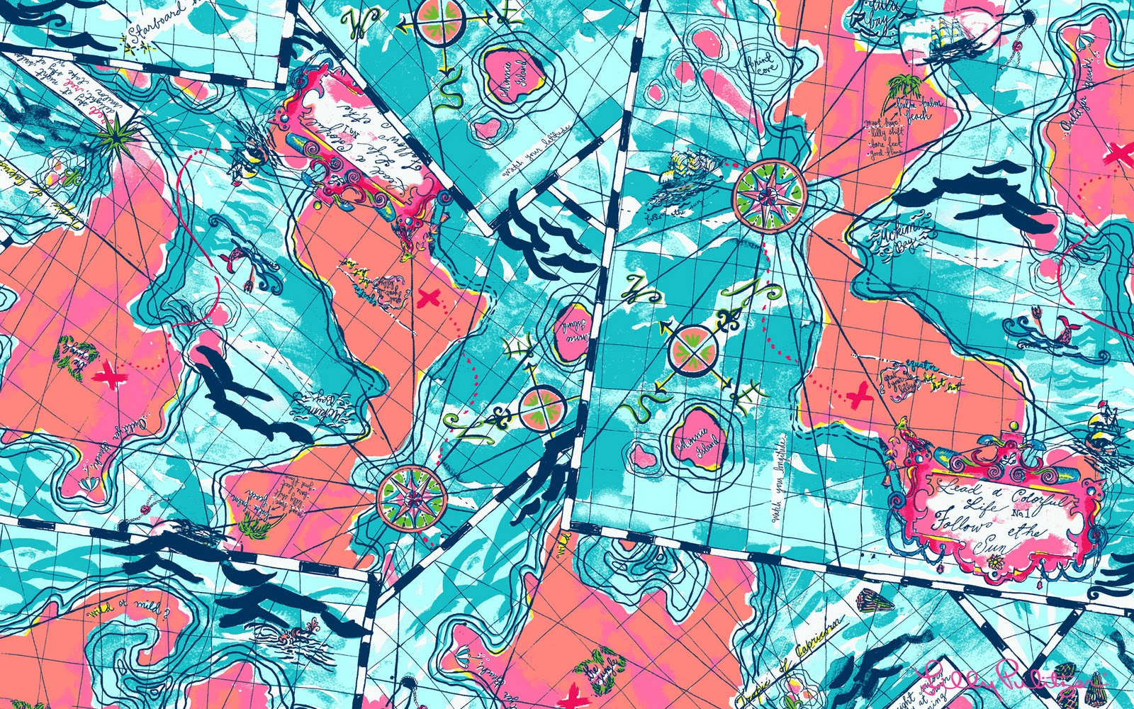 Lilly Pulitzer Patterns Lilly Pulitzer Backgrounds 12542 1600x1000 Px Hdwallsourcecom