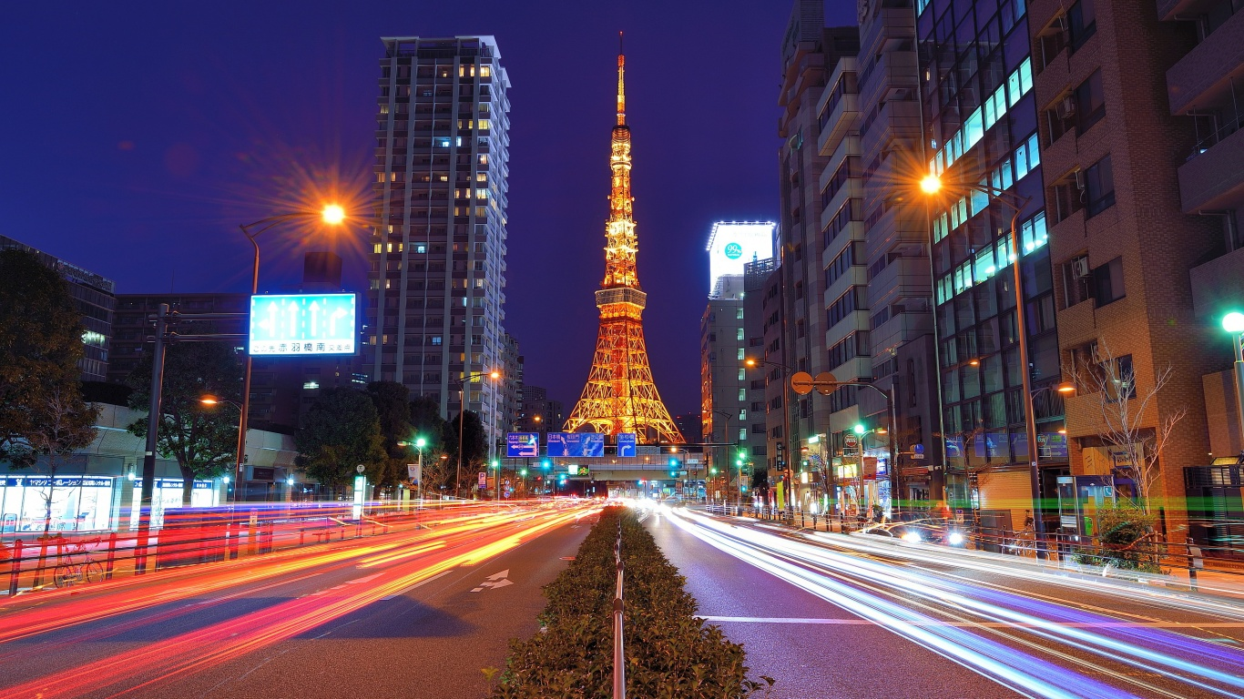 Lovely Tokyo Wallpaper 24393 1366x768 px HDWallSourcecom