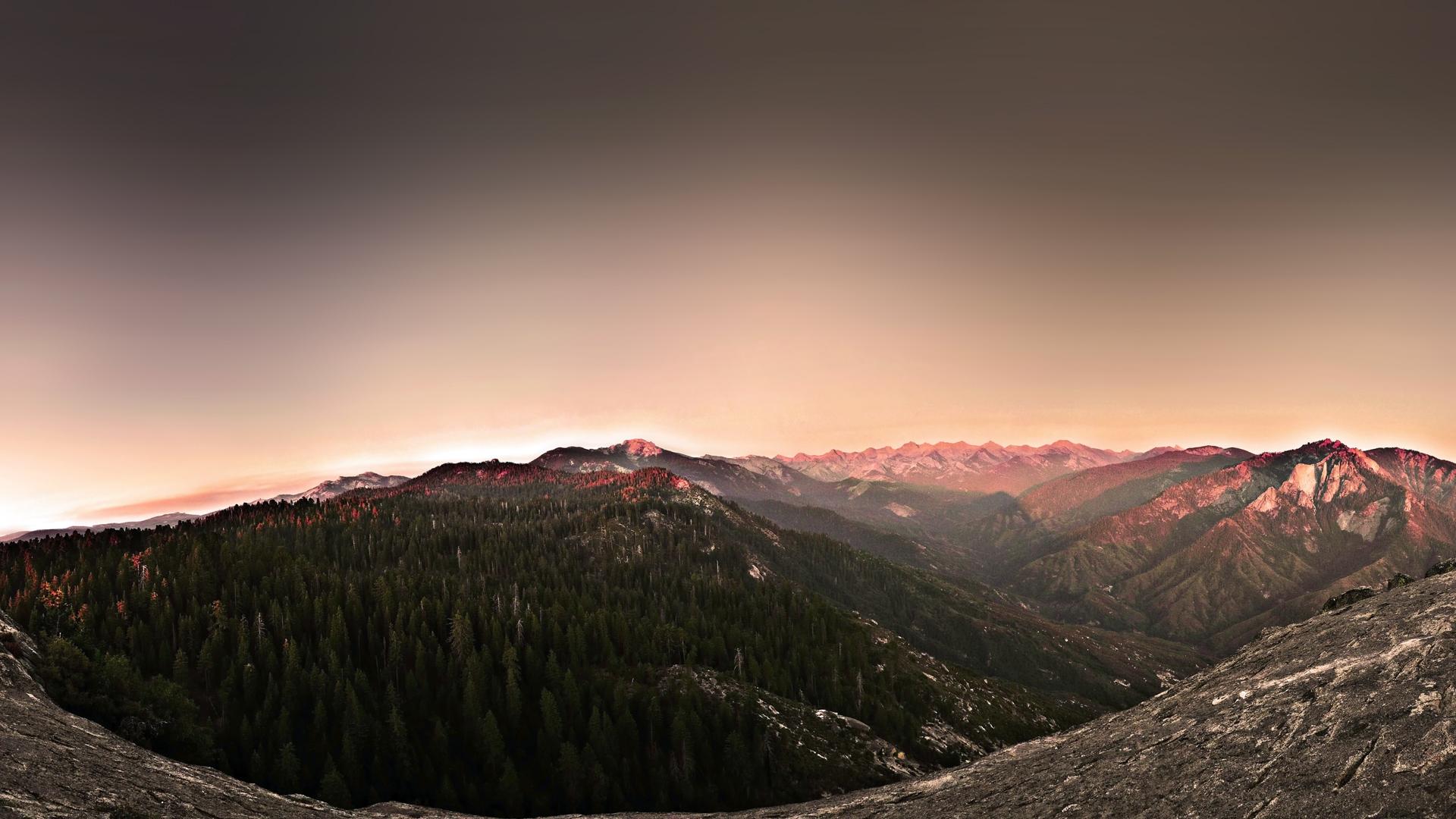 mountain peaks landscape wallpaper hd 33579