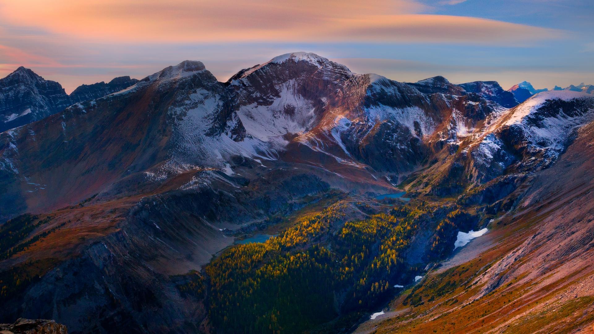 mountain peaks wallpaper 33575