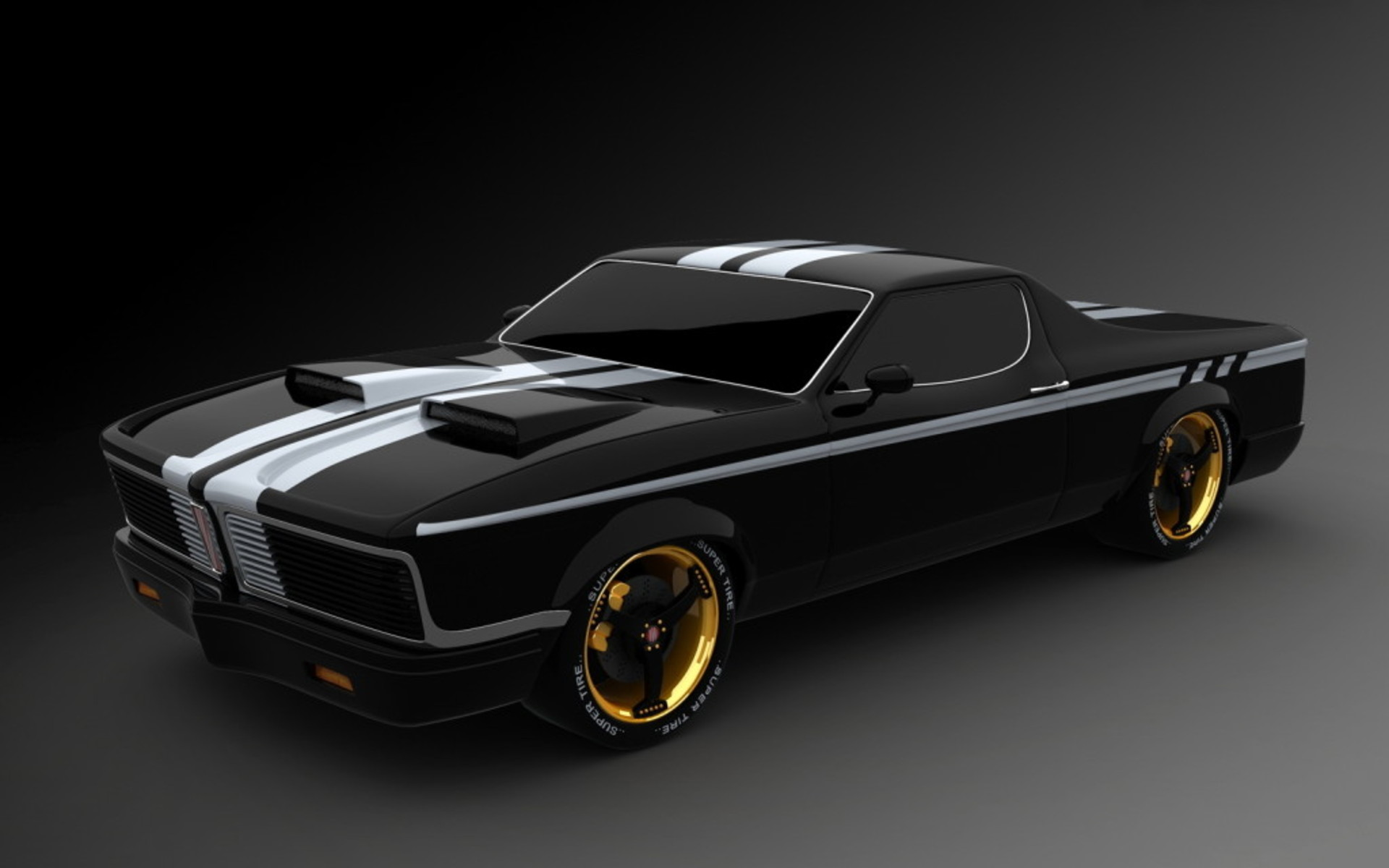 muscle car 14931