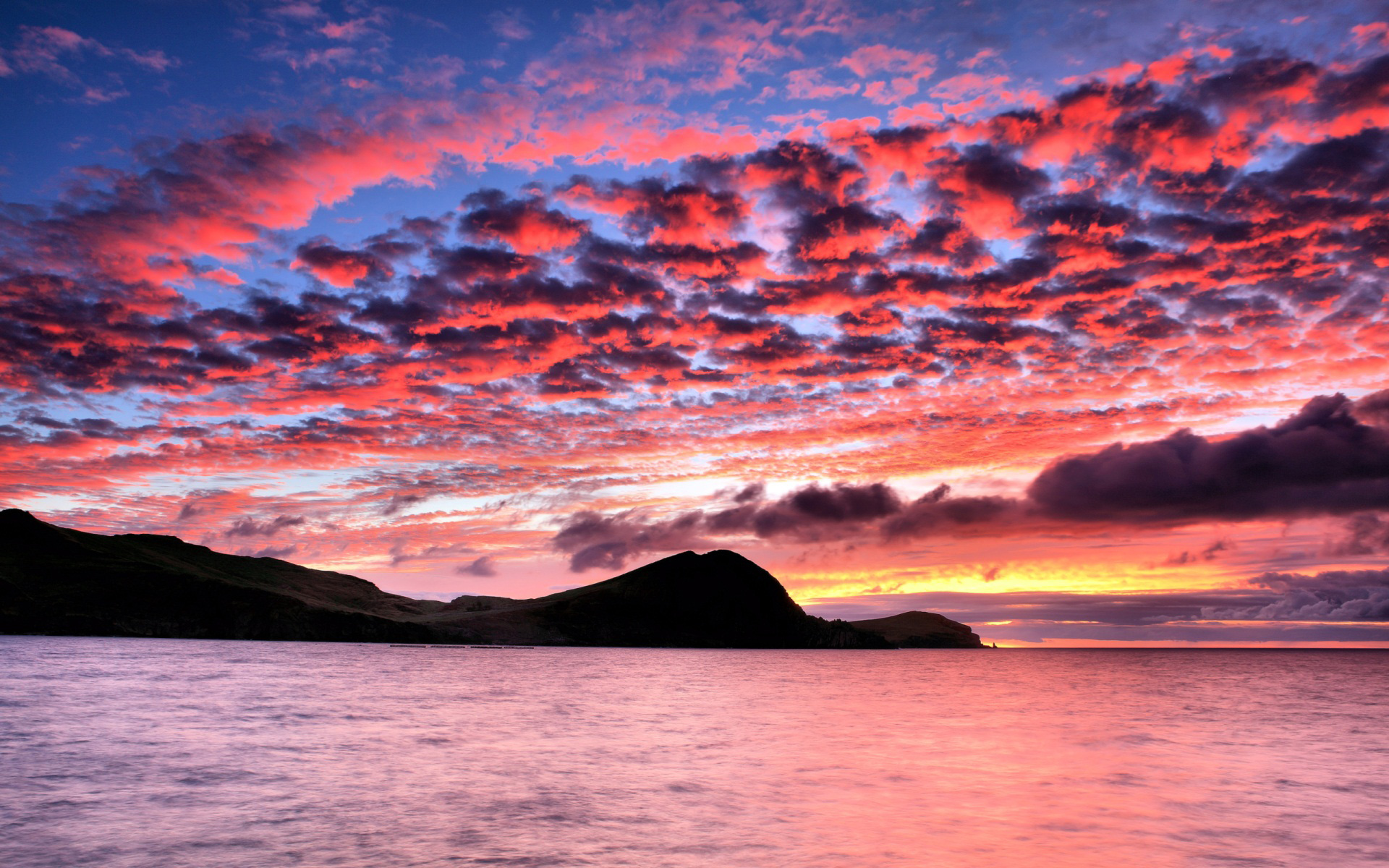 pink sunset background 30026