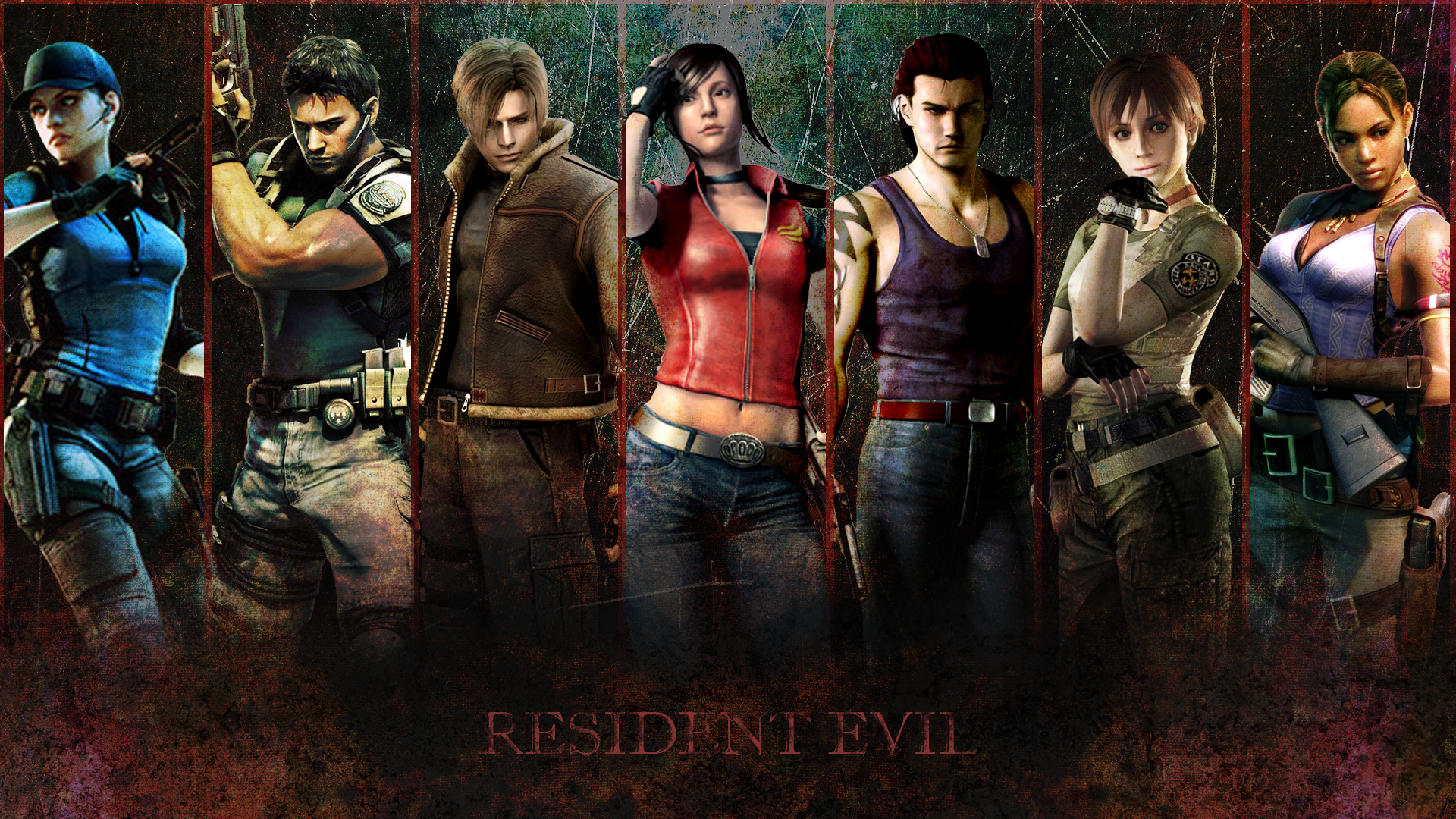 resident evil 6 wallpaper hd
