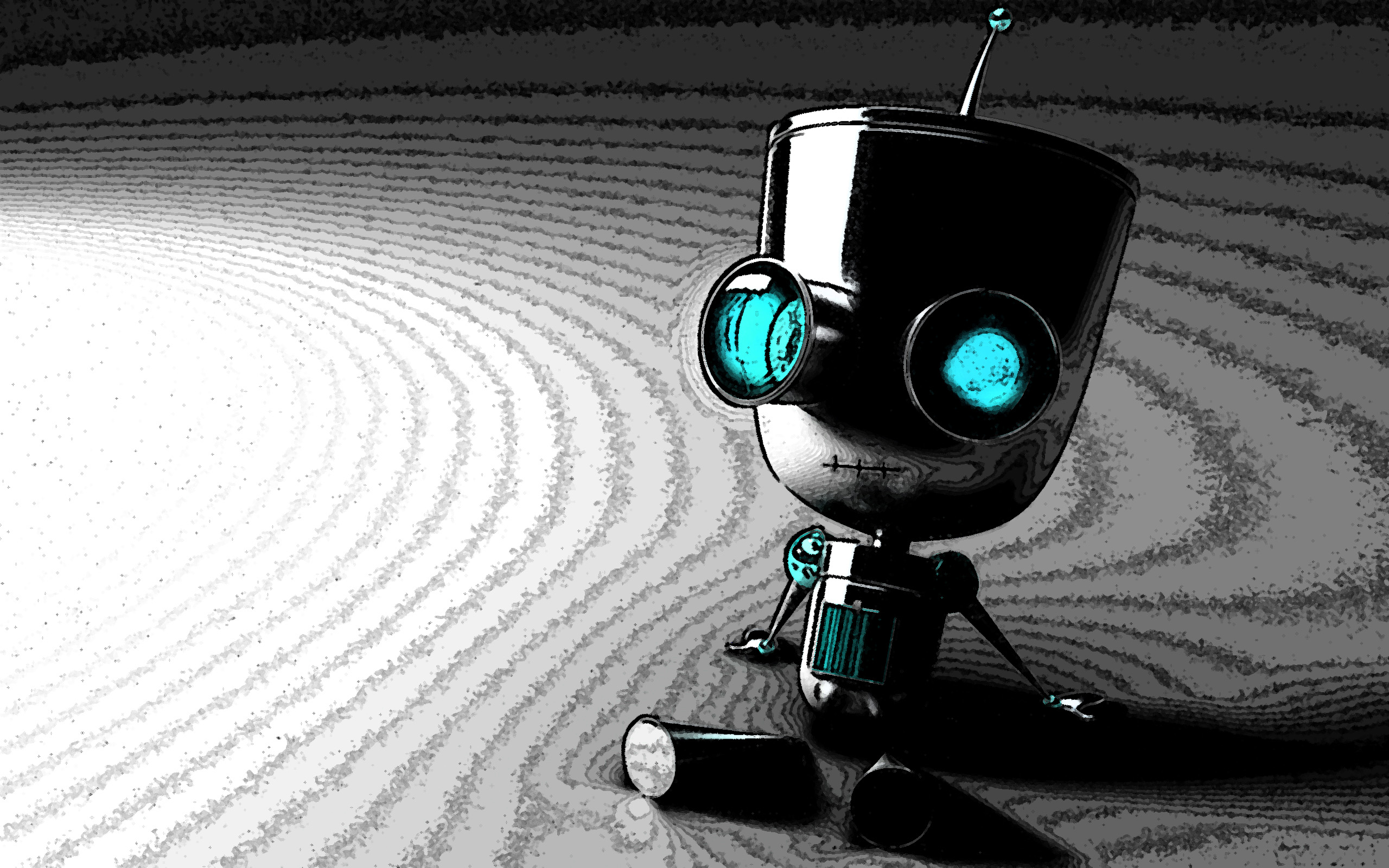 Robot Wallpaper 9407 2560x1600 px ~ HDWallSource.com