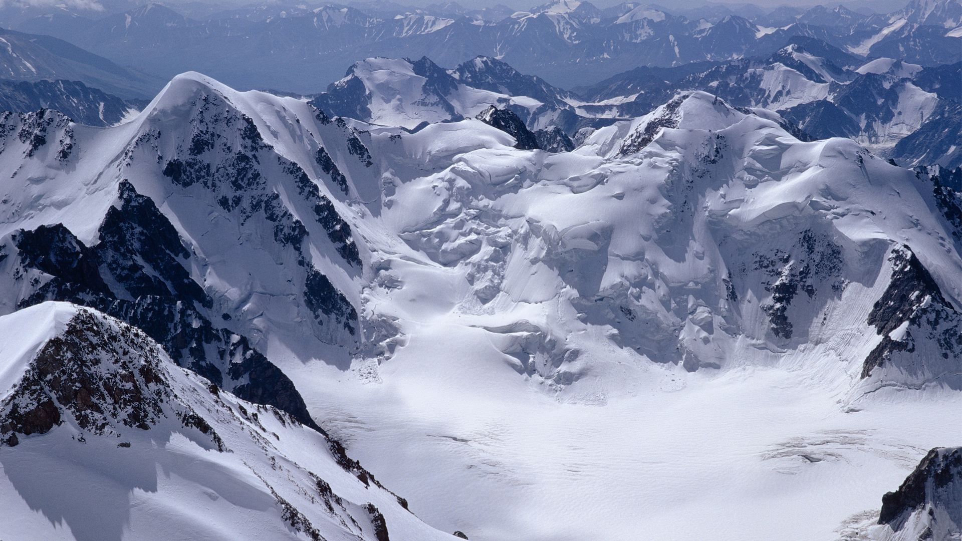 snow mountains background 17156