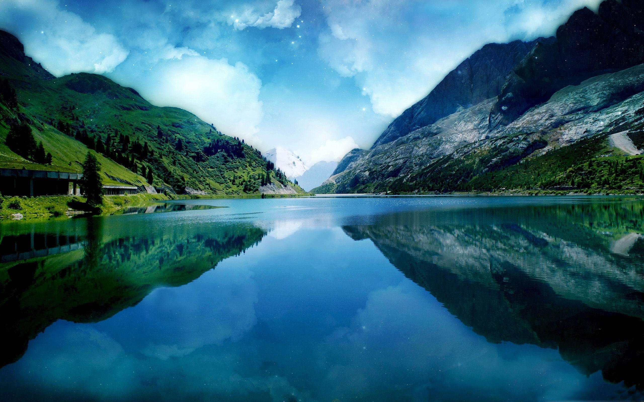 stunning mountain scenery 18742